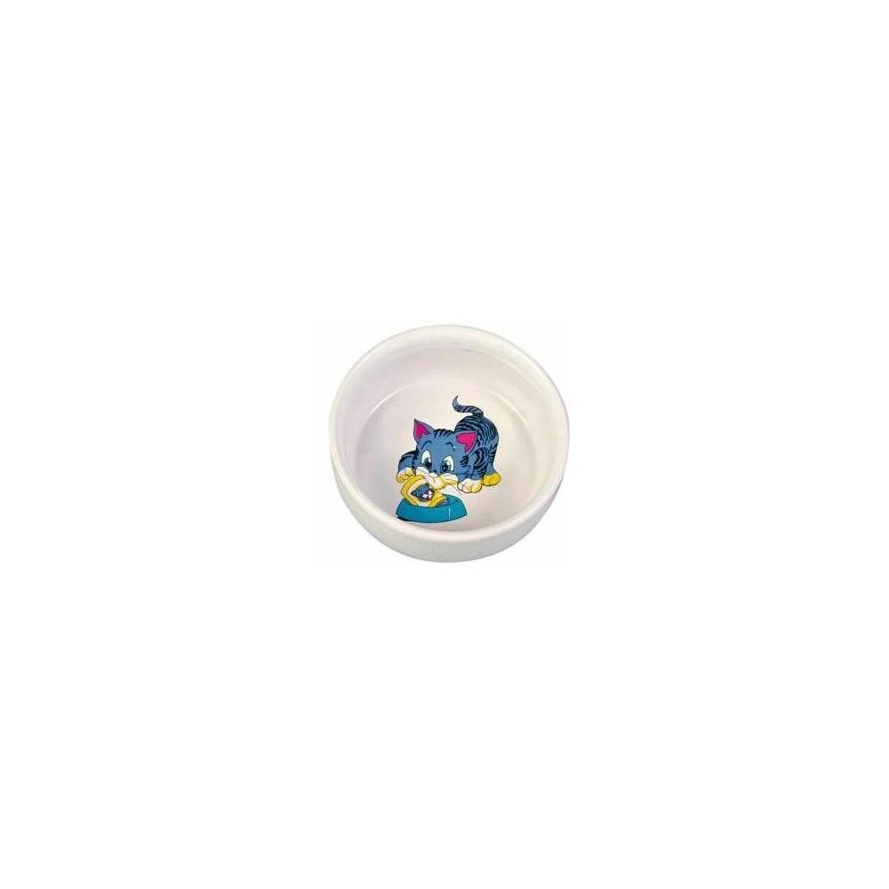 TRIXIE Miska ceramiczna dla kota 0,3l 4009