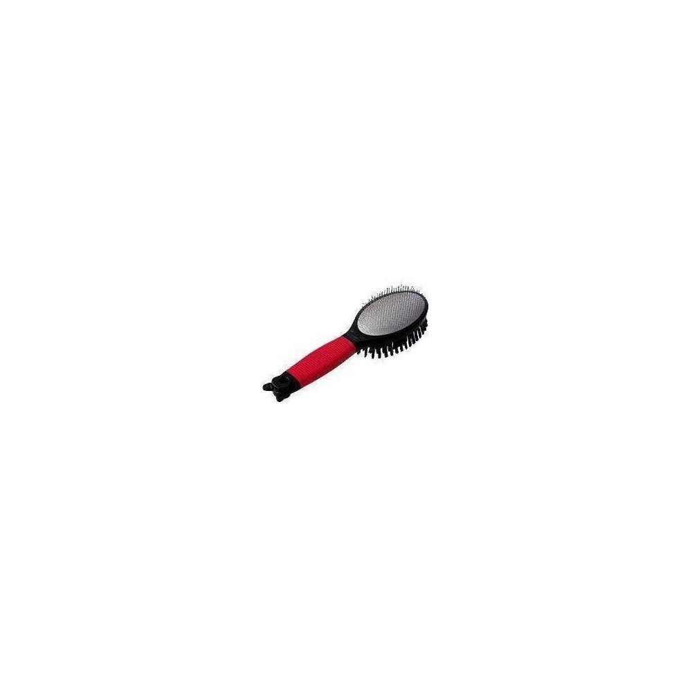 FERPLAST Szczotka podwójna druciano-włosiana GRO 5990