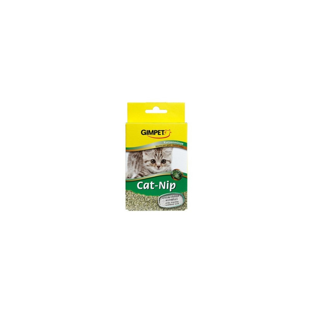 GIMPET Cat-nip - przysmak z kocią miętą 20g
