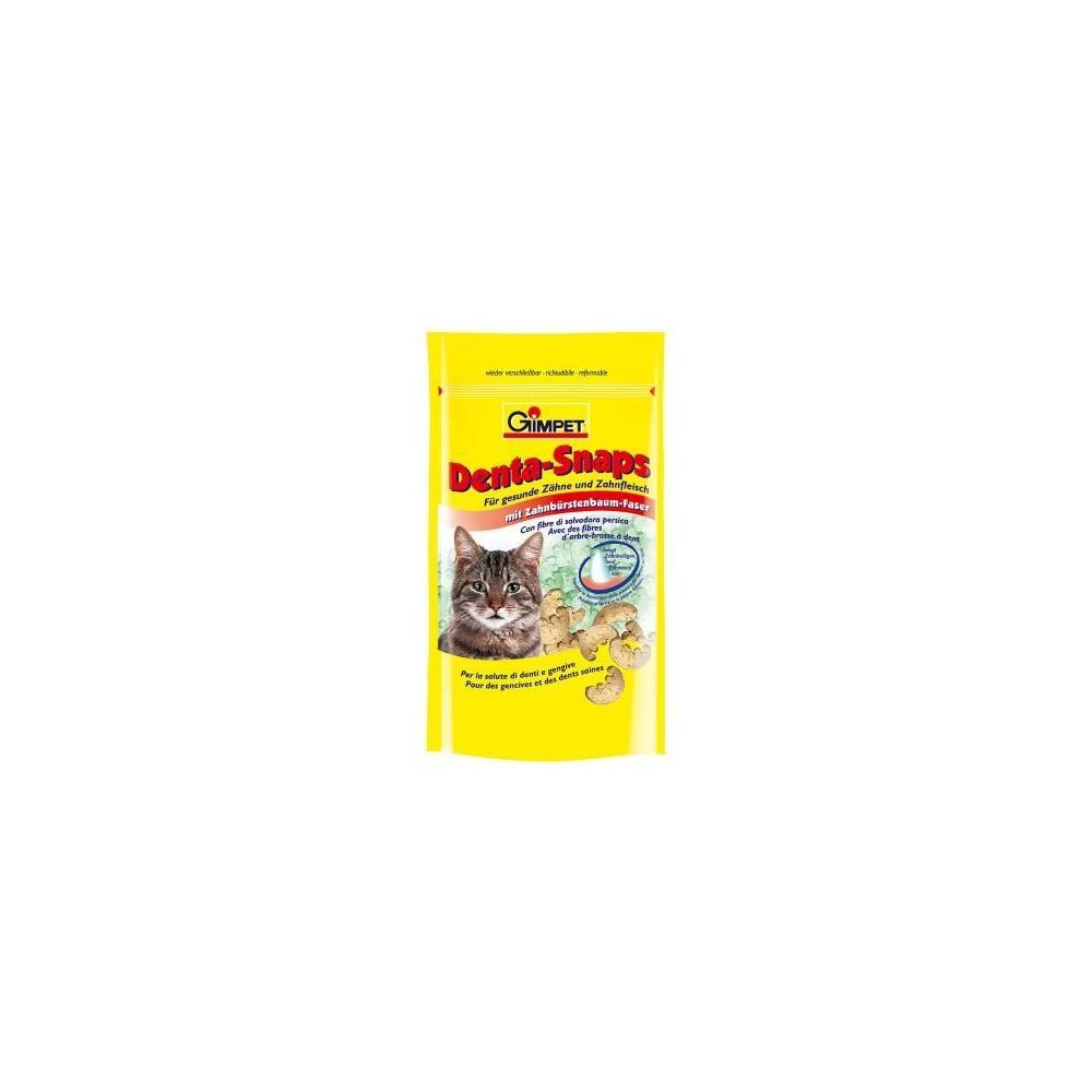 GIMPET Denta-Snaps - przysmak pielęgnujący zęby kota 60g
