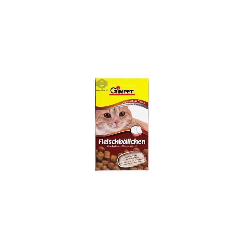 GIMPET Fleischballchen - przysmak kulki mięsne dla kota 100g