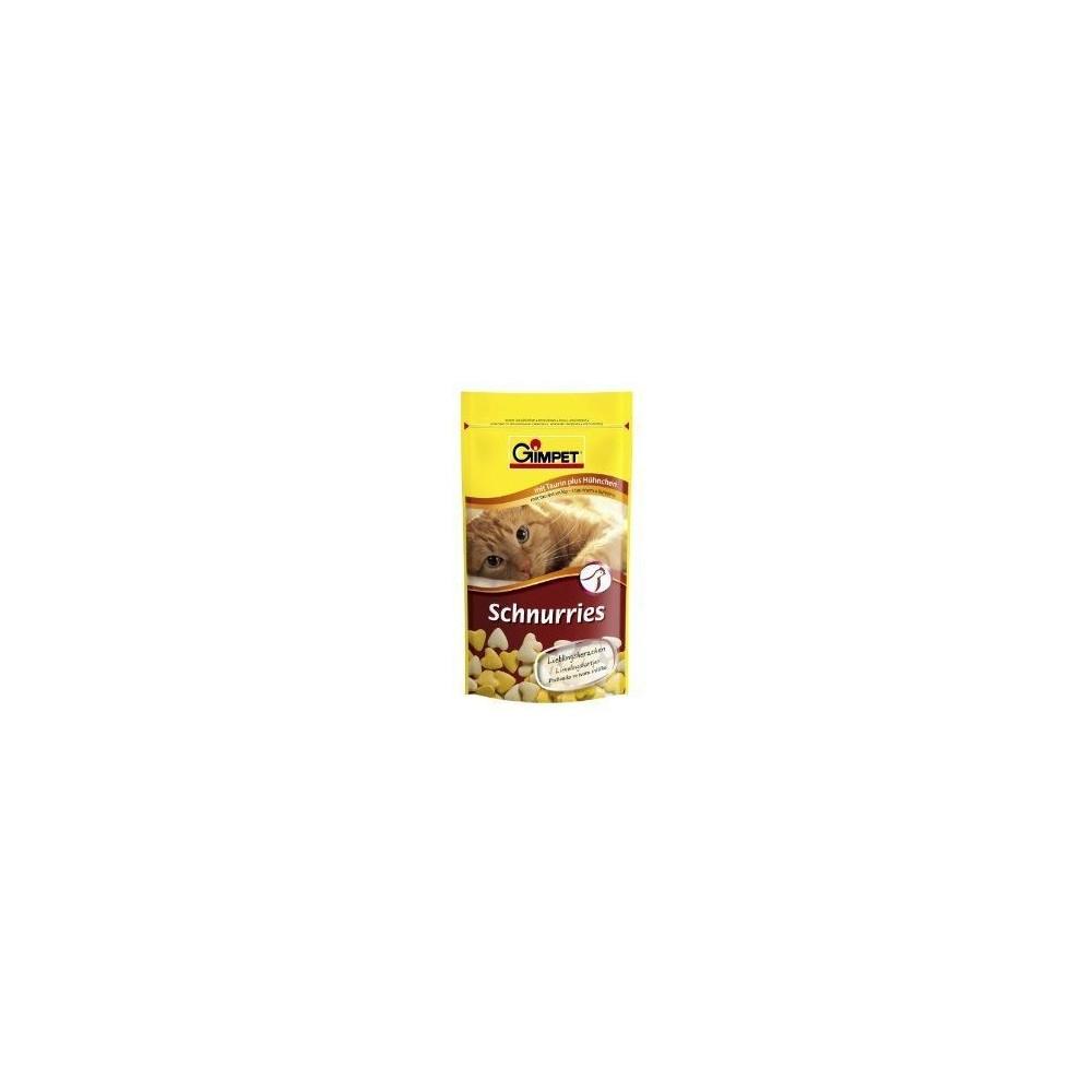GIMPET Schnurries - przysmak witaminowy z tauryną (drób) 650 szt