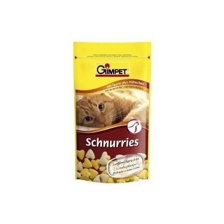 GIMPET Schnurries - przysmak witaminowy z tauryną (drób) 75szt.