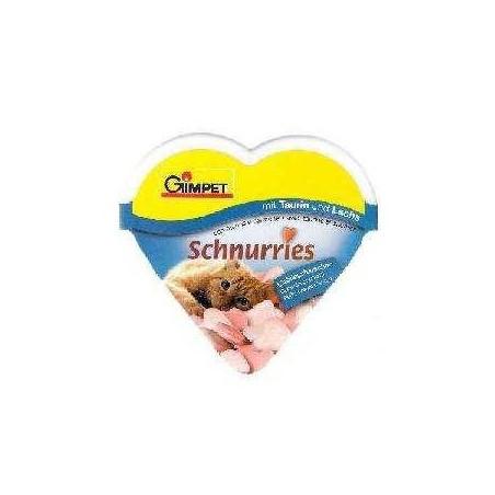 GIMPET Schnurries - witaminy z tauryną (łosoś) 75szt.