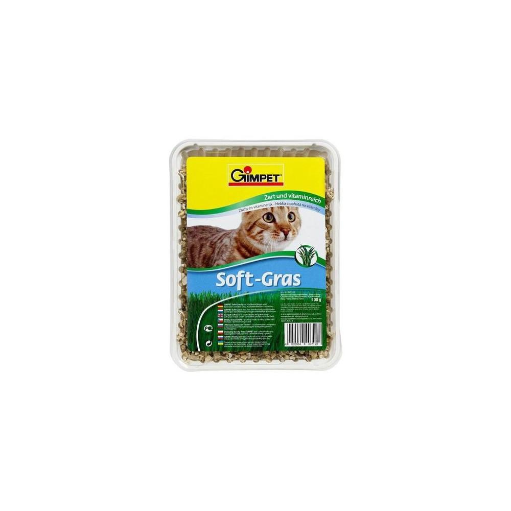GIMPET Soft Gras - trawa dla kota 100g