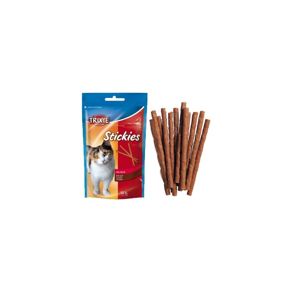TRIXIE Pałeczki dla kota wołowe 12szt 4264