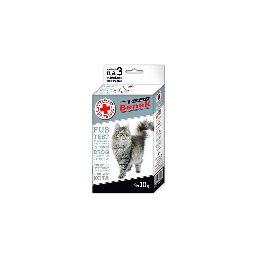 CERTECH Super Benek Veterinary Fus Test Control 3x10g