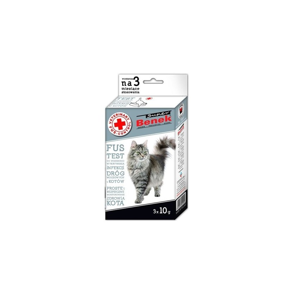 CERTECH Super Benek Veterinary Fus Test Control 3x10g