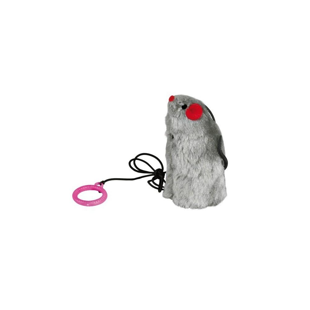 TRIXIE Mysz wydająca dźwięk dług. 9cm 4081