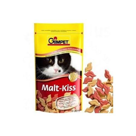 GIMPET Malt Kiss - pastylki rozpuszczające sierść dla kota 40g