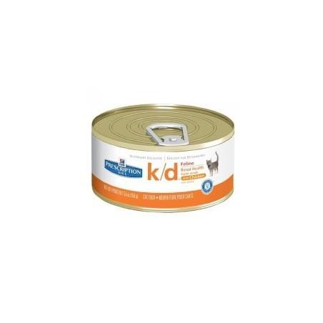HILL'S PD Feline k/d puszka 156g (pasztet z kurczakiem)