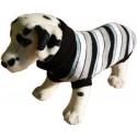 AmiPlay Sweter pasy z szarością