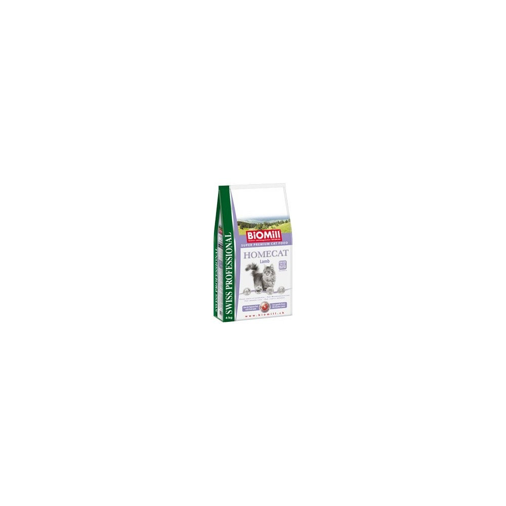 BiOMill Swiss Professional HOMECAT Lamb & Rice