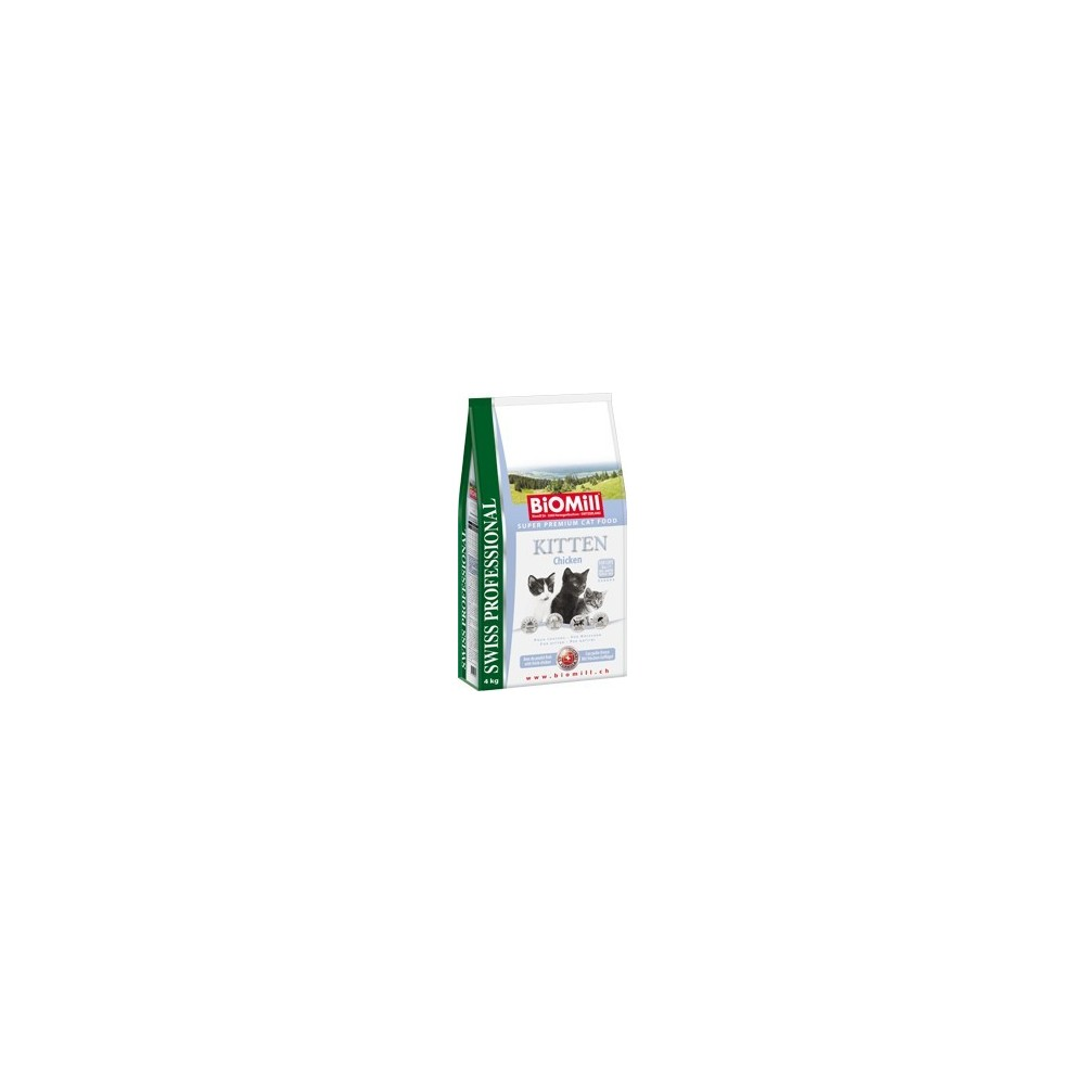 BiOMill Swiss Professional KITTEN Chicken & Rice