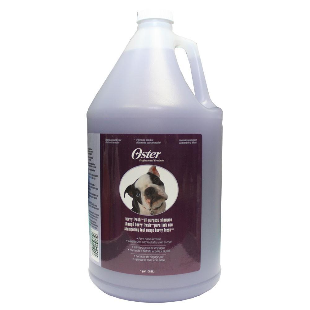Oster Berry Fresh All Purpose Shampoo - szampon jagodowy do każdego typu sierści 3,78 l