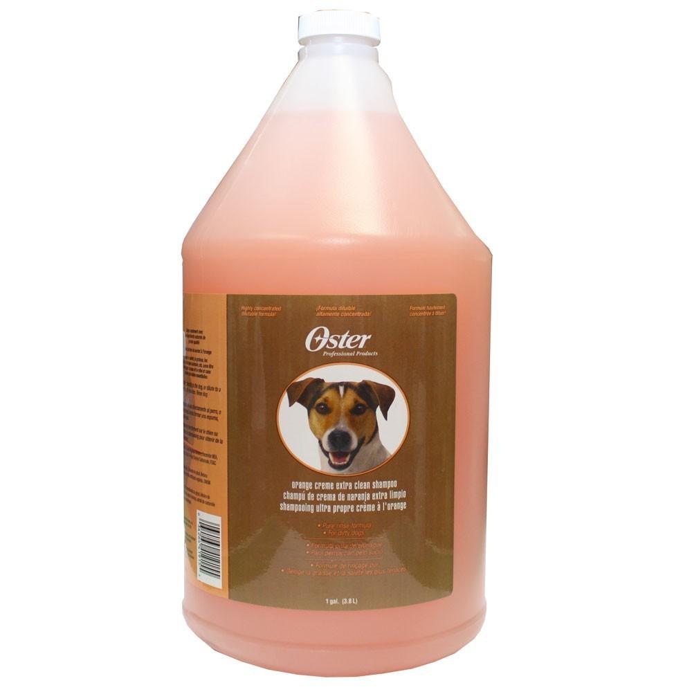 Oster Orange Creme Extra Clean Shampoo - szampon pomarańczowy do każdego typu sierści 3,78 l