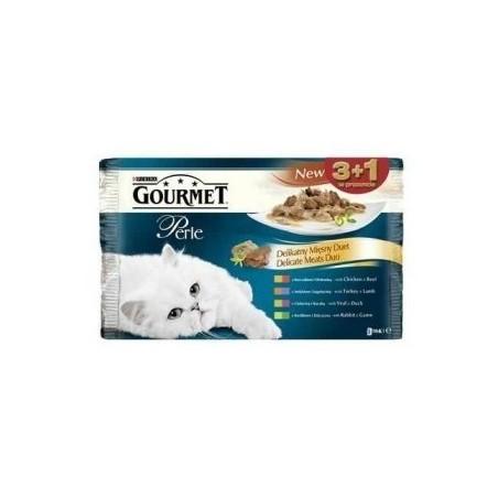 GOURMET PERLE 4 x 85g pakiety do wyboru