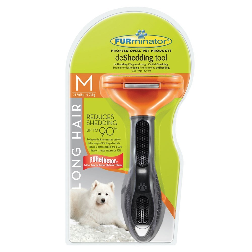 FURminator dla psów długowłosych ras średnich, medium dog