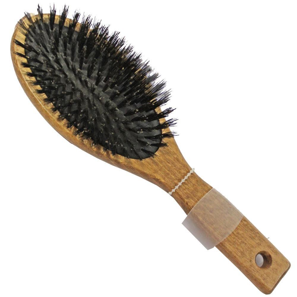 Groomer - szczotka z naturalnym włosiem