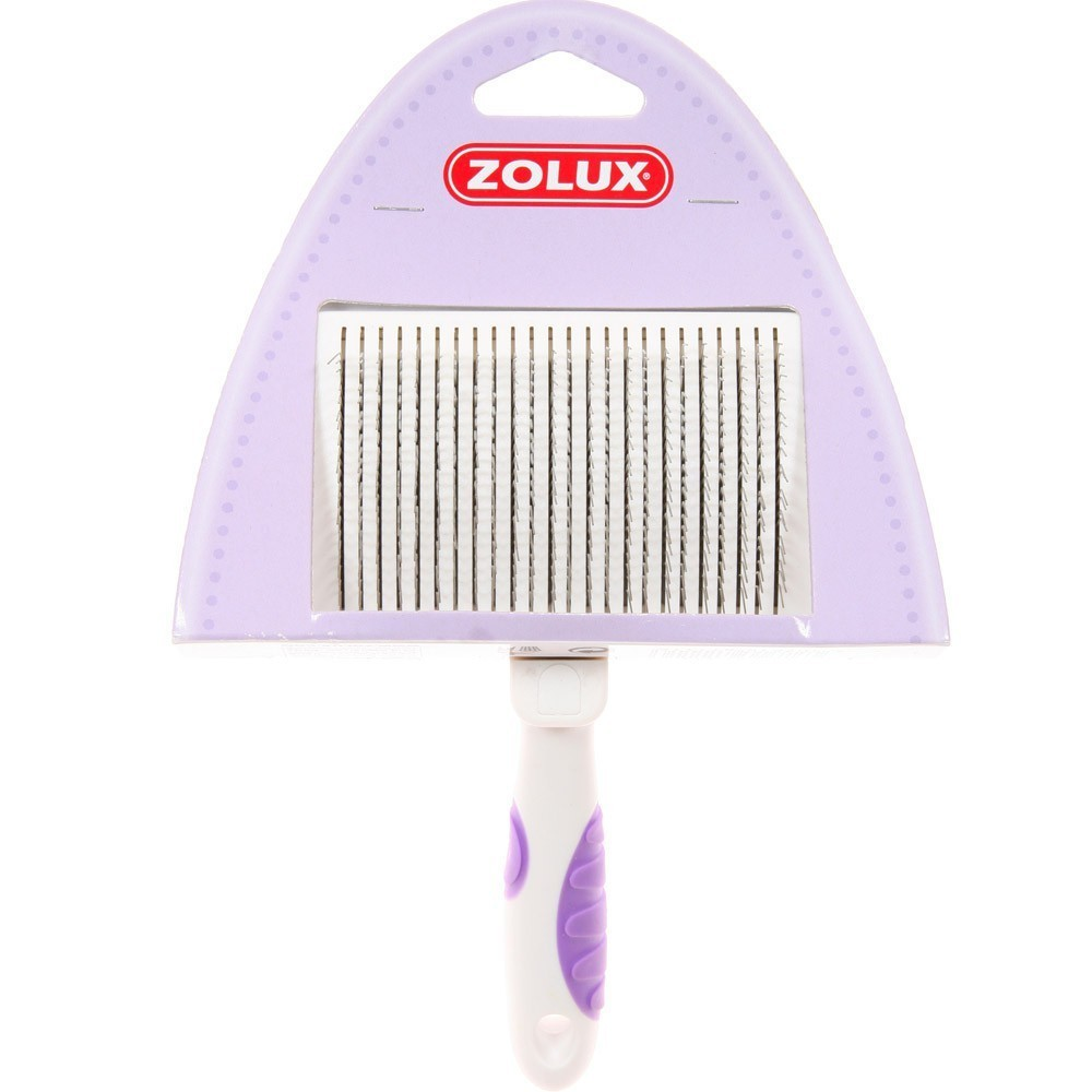 Zolux - szczotka samoczyszcząca się dla kota, średnia