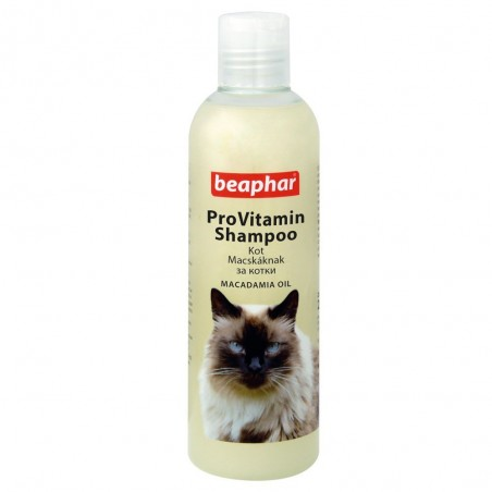Beaphar - szampon dla kotów z olejkiem makadamia 250ml