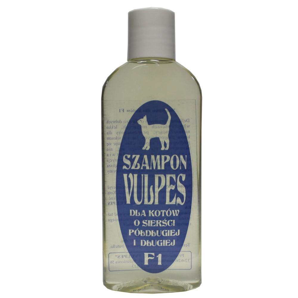 Vulpes - szampon F1 dla kotów o sierści półdługiej i długiej 150ml