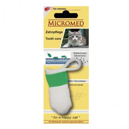 Micromed - czyścik do zębów dla kota lub małego psa