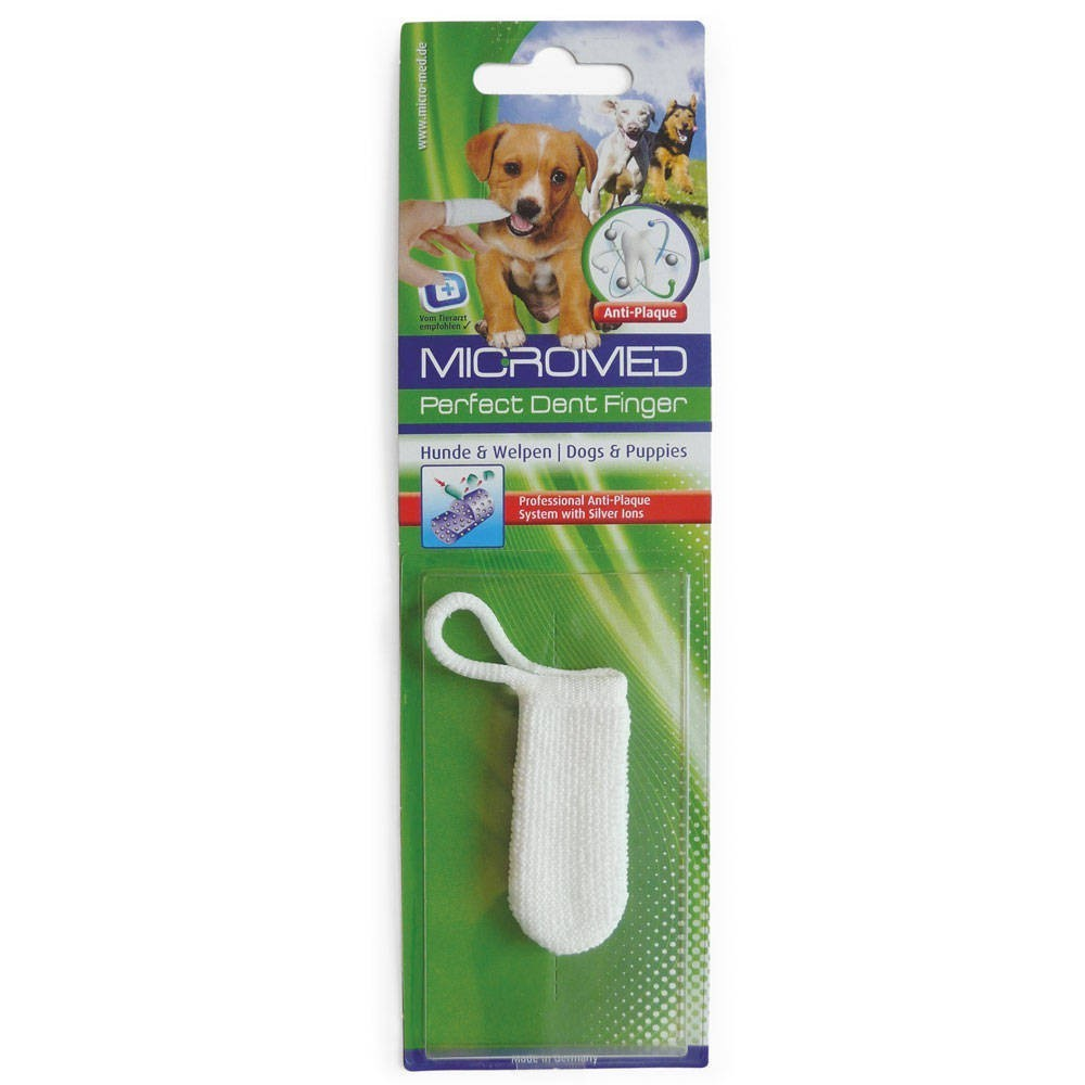 Micromed - czyścik do zębów dla psa