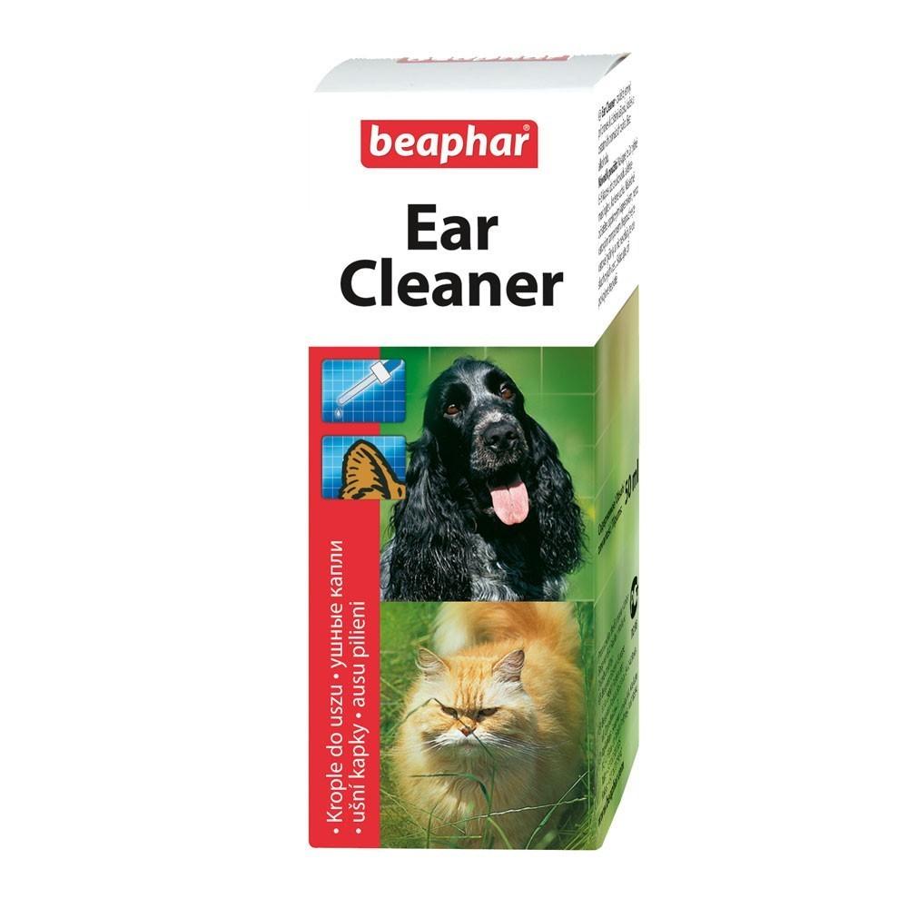 Beaphar Ear Cleaner - krople do pielęgnacji uszu psów i kotów 50 ml