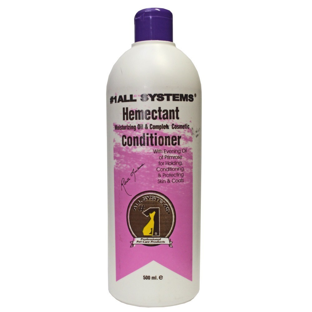 1 All Systems Hemectant Moisturizing Oil - odżywka dla psów długowłosych 500ml