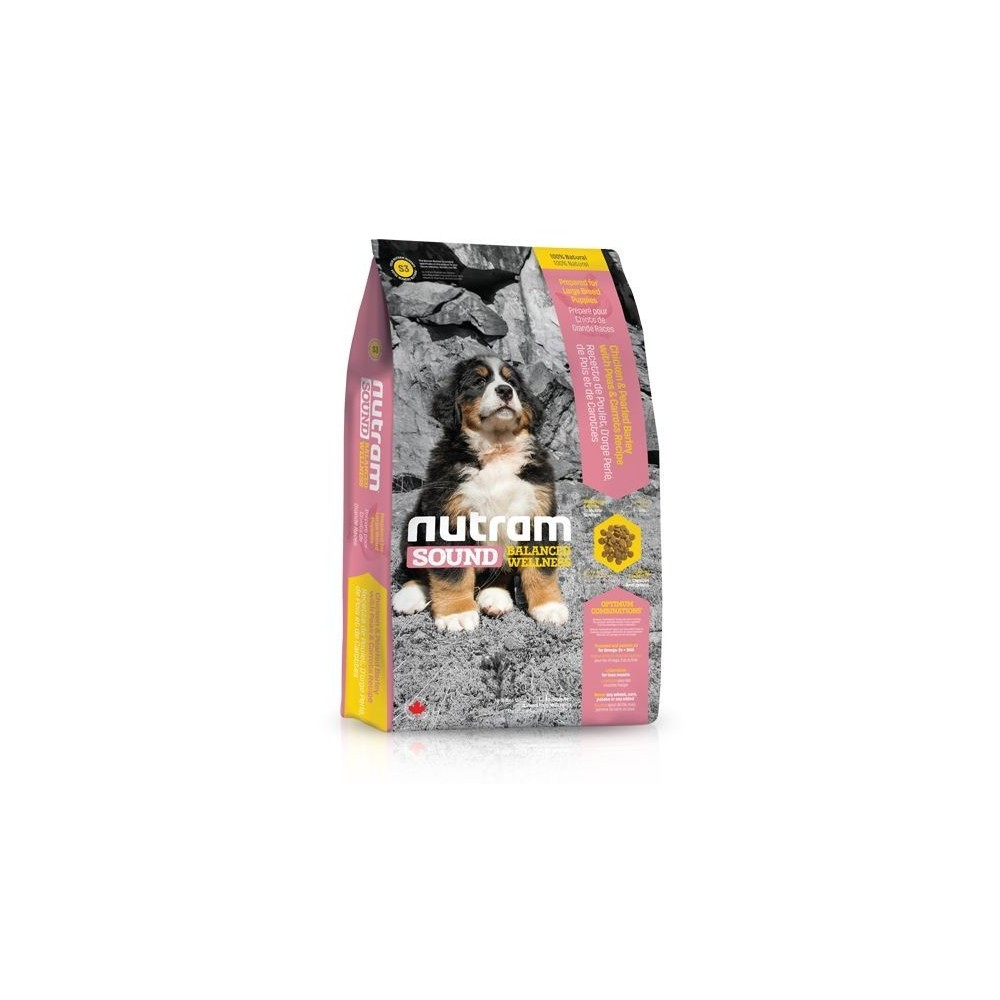 S3 Nutram Sound Puppy Large Breed 13,6 kg