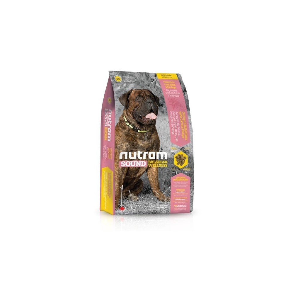 S8 Nutram Sound Adult Large Breed 13,6 kg