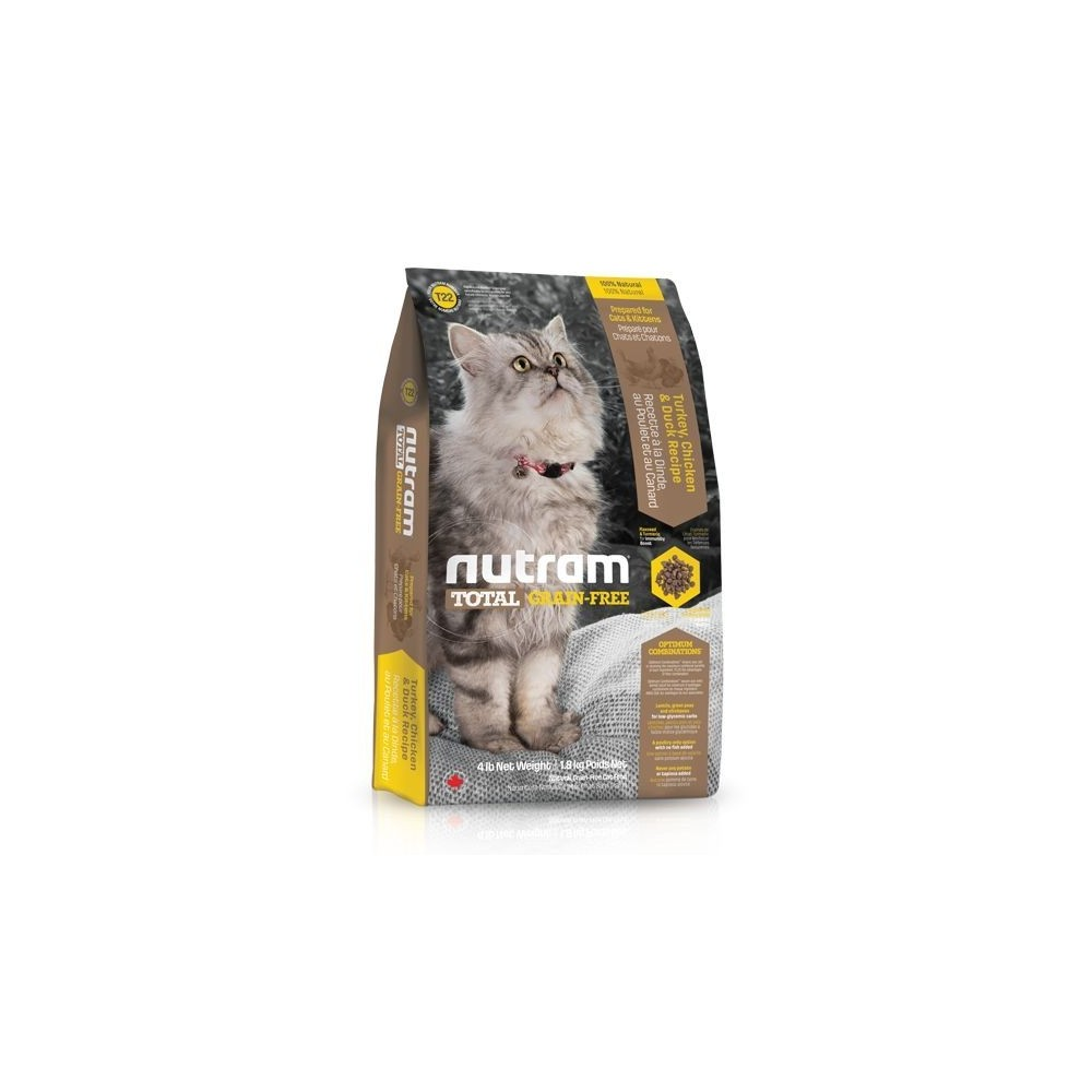 T22 Nutram Total Grain Free Turkey, Chicken & Duck 1,8 kg