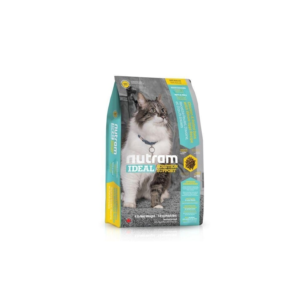 I17 Nutram Ideal Solution Indoor Shedding Cat 1,8 kg