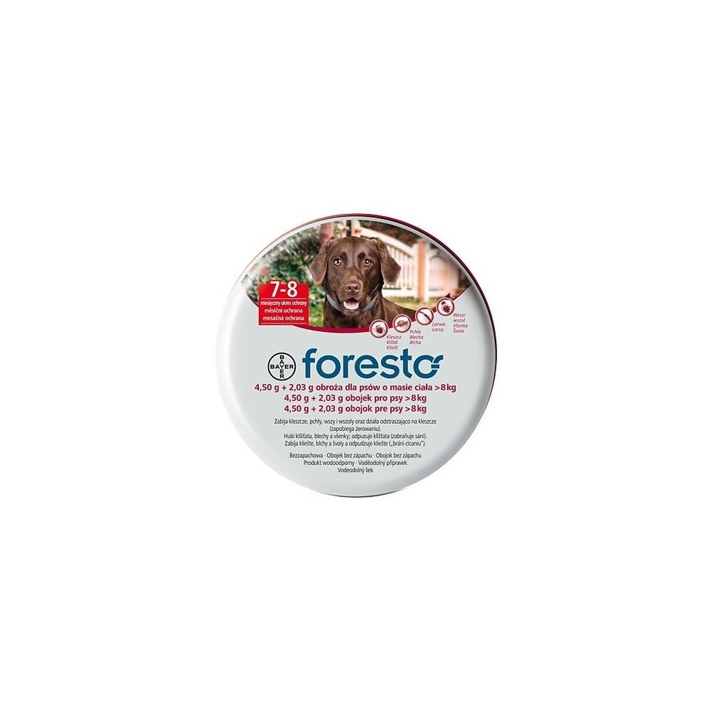 Bayer Foresto - Obroża przeciw pchłom i kleszczom dla psów dużych