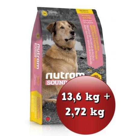 S6 Nutram Sound Adult Dog - Zestaw
