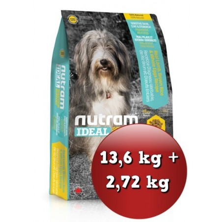 I20 Nutram Ideal Sensitive Skin, Coat - Zestaw