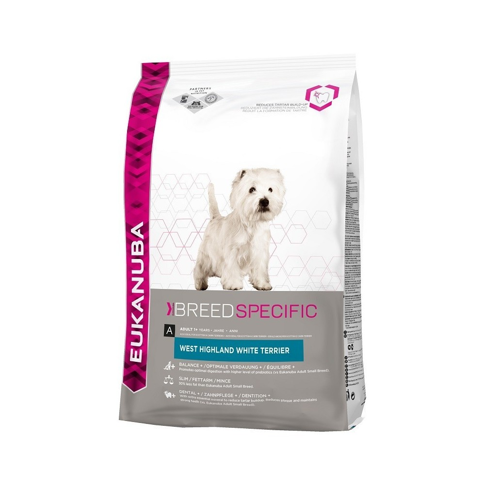 EUKANUBA Adult West Highland White Terrier