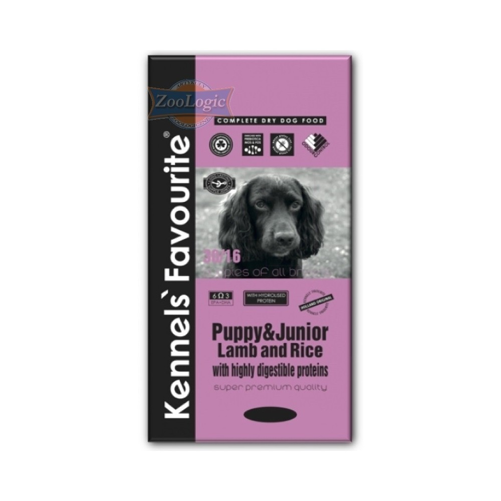 KENNELS' FAVOURITE Puppy Lamb & Rice 20 kg