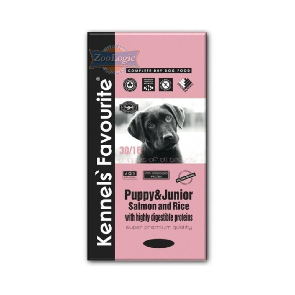 KENNELS' FAVOURITE Puppy Salmon & Rice 20 kg