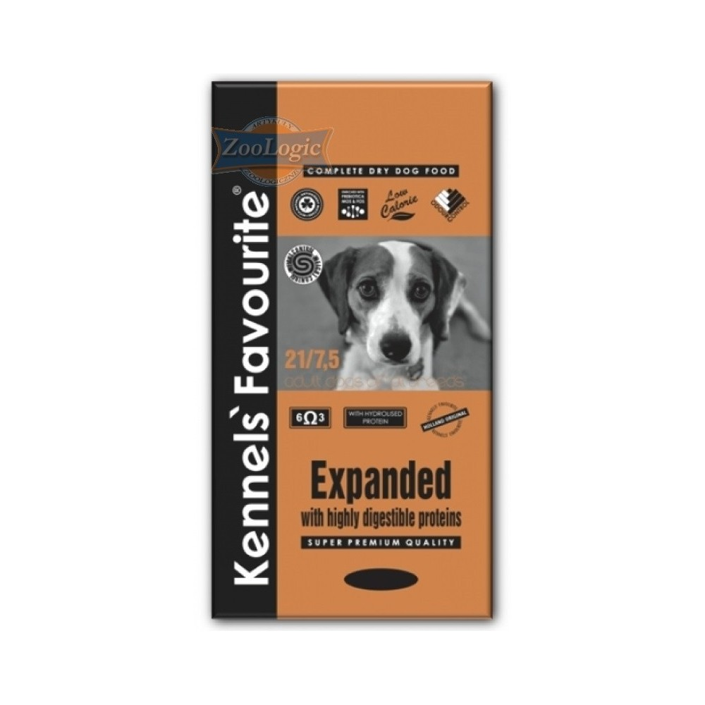KENNELS' FAVOURITE Expanded 21% 20 kg