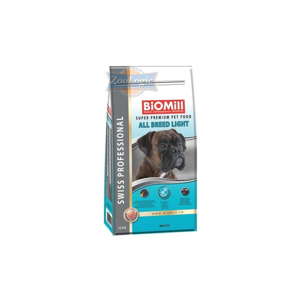 Biomill Swiss Professional All Breed Light