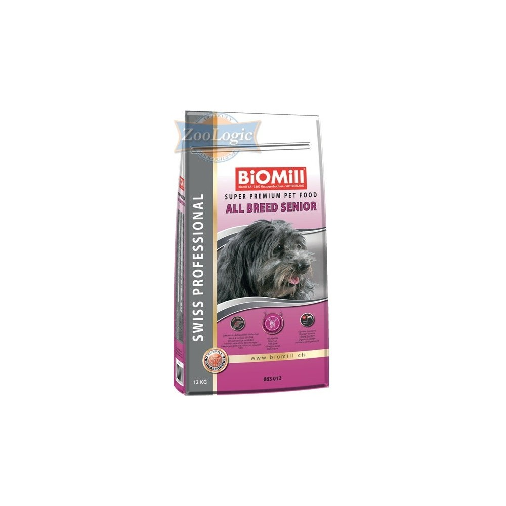 Biomill Swiss Professional All Breed Senior