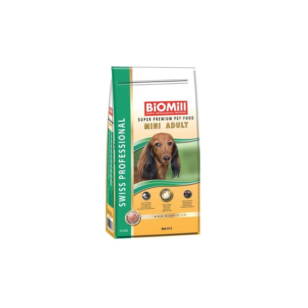 BiOMill Swiss Professional MINI ADULT (Chicken & Rice)