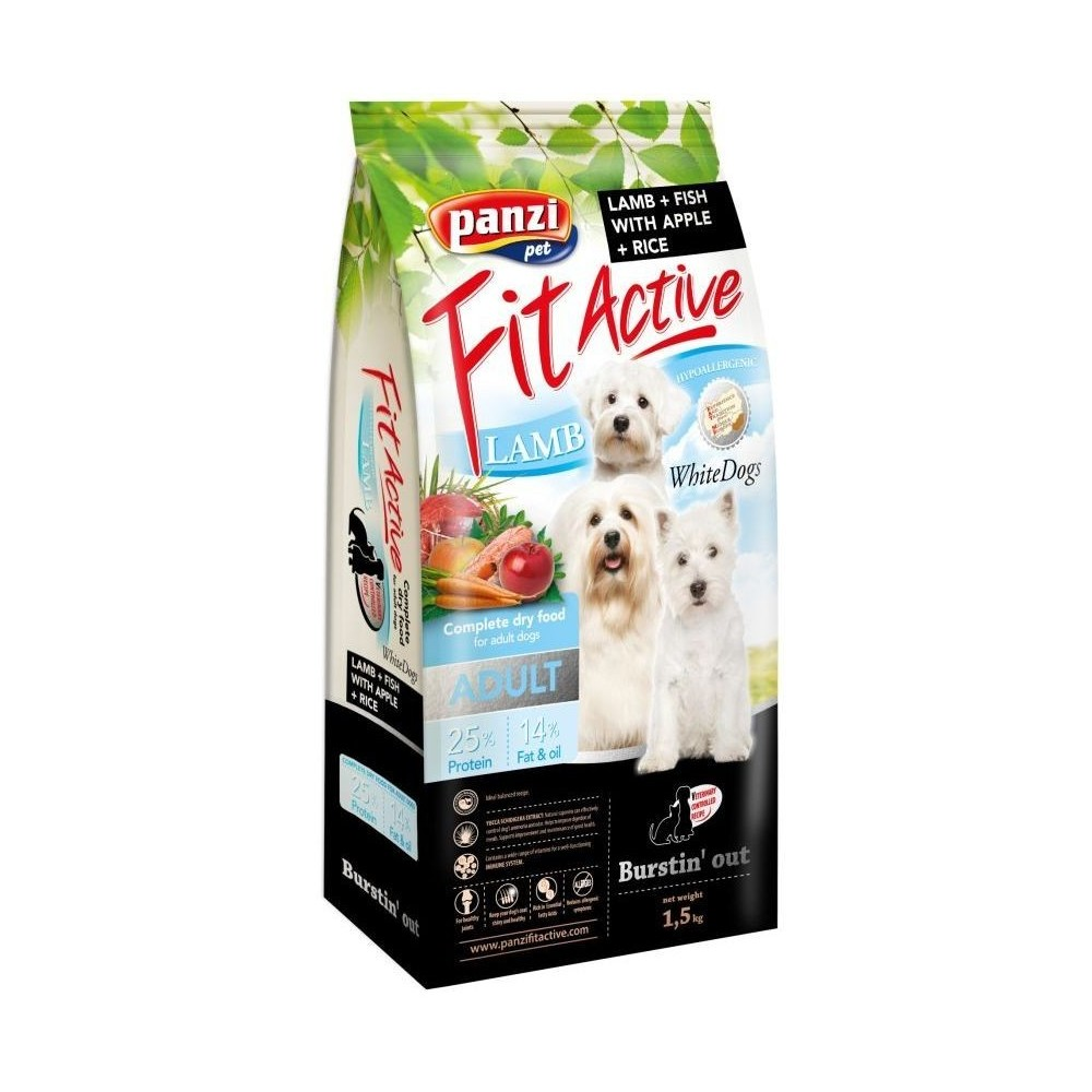 Fit Active Dog WhiteDogs