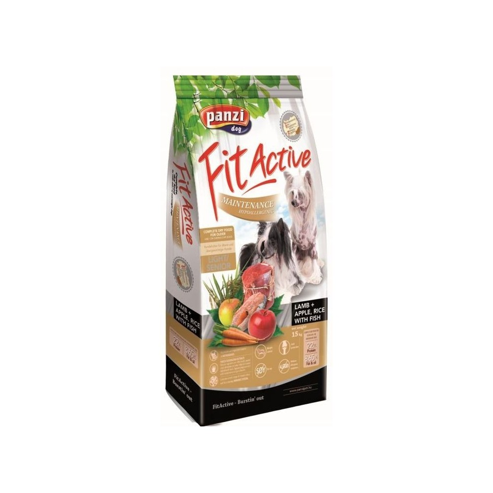 Fit Active Hypoallergenic Light/Senior Small Breed