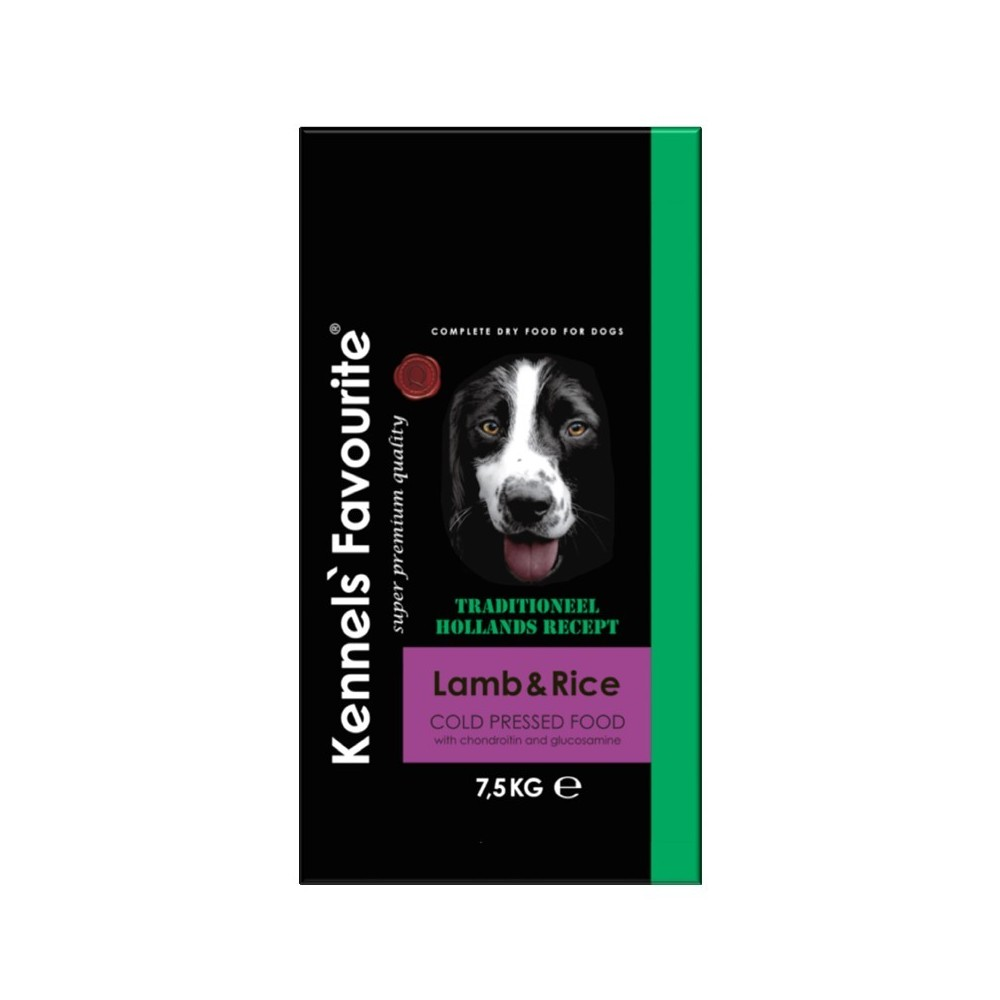 KENNELS' FAVOURITE Lamb & Rice Cold Pressed