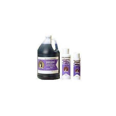 1ALL SYSTEM Professional Formula Whitening Shampoo - szampon rozjaśniający naturalny kolor sierści 250ml