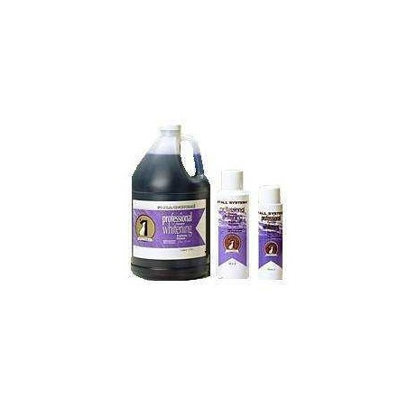1 ALL SYSTEM Professional Formula Whitening Shampoo - szampon rozjaśniający naturalny kolor sierści 3,78l