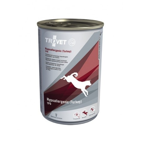 TROVET Hypoallergenic (Indyk) TPD Dog - puszka 400g